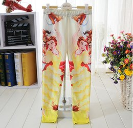 Wholesale kids leggings comfortable child clothing leggings pants Beauty and the Beast Leggings for years