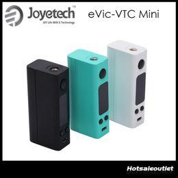 Evic vtc en venta-100% original Joyetech EVIC-VTC Mini 60W TC VW Mod EVIC VTC Mini Control de Temperatura Ecigarette Mods
