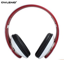 Wholesale-Hot Ovleng X8 3.5mm Folding Stereo Headphones Earphones Headset with Microphone Detachable Cable Controller for PC