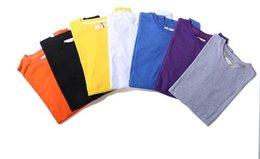 color stripe long-sleeve T-shirt European and American Comfortable And male joker round collar men long T-shirt split shirt