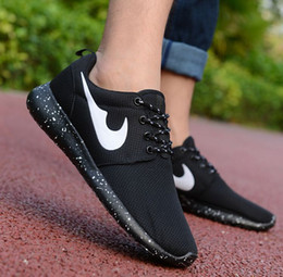 Wholesale 2016 men and women breathable light plus size network shoes wear casual sport fashion shoes in stock and support drop ship