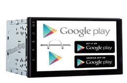 Wholesale Quad coreIn Dash Universal Quad Core Din Android Car Audio Stereo GPS G Wifi Bluetooth Radio No CD car dvd Player automotivo