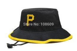 Wholesale-Pittsburgh Bucket Hat Thousands Style Sport Hat For Men, Cheap Women McCutchen Hats Wholesale