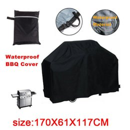 Wholesale Water resistant BBQ burners Cover Garden Patio Rainproof BBQ accessories Durable Waterproof Polyester
