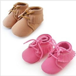 OUTLETS!Leisure toddler shoes,tassel princess shoes,rose red brown baby shoes,soft children single shoes,lovely girls shoes!6pairs 12pcs.J