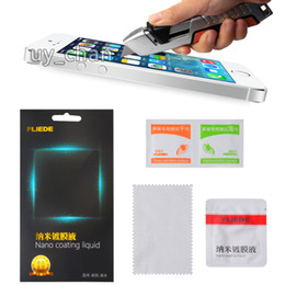 Wholesale 9H Hardnes Screen Protector NANO Liquid Coating for Cellphone Tablet iPhone S plus samsung s5 s6 note ipad air Anti Scratch
