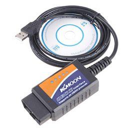 Wholesale Diagnostic tool V1 ELM327 OBD2 CAN BUS Car Diagnostic Interface auto Scanner USB auto scan K342