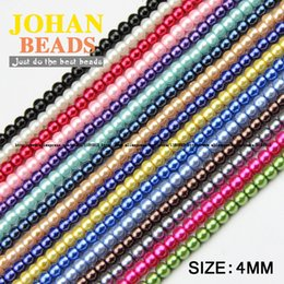 Wholesale High quality MM Loose Candy Bead Round Assorted Colorful ball lacquer that bake Glass Beads Jewelry Bracelet DIY NEW