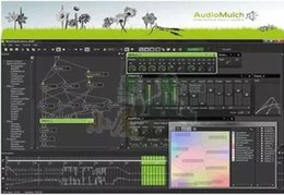 Wholesale Interactive sound synthesis and sound processing and music editing software AudioMulch v2 ENGLISH