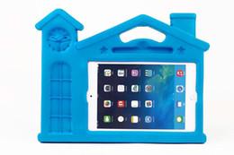 3D Cartoon Home Design EVA Kids Thick Foam Housse antichoc avec support / poignée pour Apple iPad Mini iPad Mini avec Retina Display 1 / PCS à partir de enfants ipad poignées de cas fabricateur