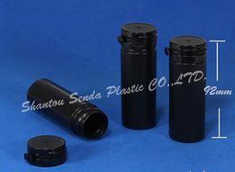 Wholesale 20PCS Hdpe plastic chocolate bottle ml hot sale cylinder shape chewing gum bottle