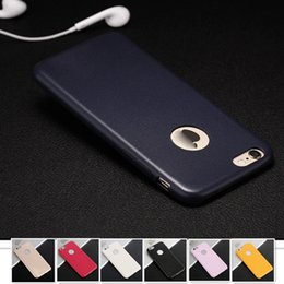 Wholesale Ultra thin PU Leather Phone Cases for iphone s Luxury Cellphone Protective Soft Back Cover For Apple s Multi Color Housing