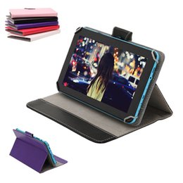 9 inch Tablet PC Cover Cases PU Leather Wallet Foldable Folding Folio Stand Smart Cover Cases for 9 inch Tablet PC