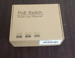5 PORT 10 100Mbps POE SWITCH 60w external power adapter cctv security camera system mini size POE Ethernet