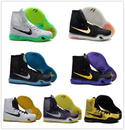 Wholesale 2015 Nike Kobe Elite High Tops Flyknit Kobe Bryant X Basketball Shoes