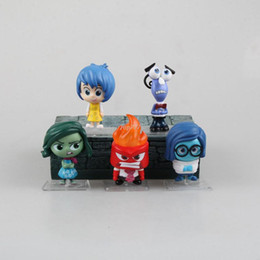Wholesale Animated movie Inside Out PVC Action Figures Collectible Model Toys Dolls Boxed set Holiday gifts Boxed