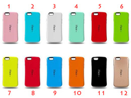iface Case Candy Color Back Cover Full Protective Shockproof Hybrid Impact TPU Cases For iPhone 5 6 6Plus DHL Free SCA062