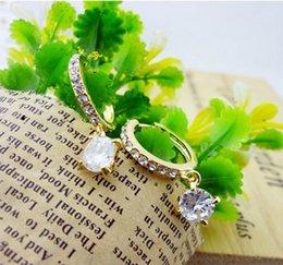 Promotion price! Wholesale jewelry manufacturer Eight heart, eight arrows diamond earrings waltz - zircon earrings with enemies of women