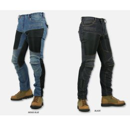 Wholesale Newest Komine pk719 motorpool Jeans Wind motorcycle riding jeans with protective gear