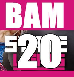 Free Shipping 2015.7 July Q3 New Routine BAM 20 SH Exercise Fitness BAM20 Video DVD + Music CD