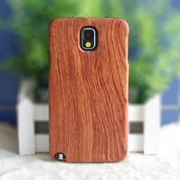 Wholesale S6 Genuine Solid Wood Case for Samsung Note4 Note3 Note2 S5 S4 S3 Natural Handcrafted Real Wood True Hardwoods Cover Cherry Bamboo MOQ