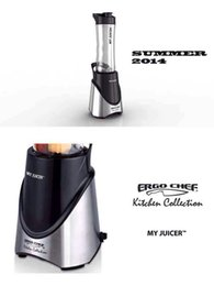 Wholesale ERGO CHEF MY JUICER V W Super Power Mini Juice Machine Home Bottle Blender Mixer Kitchen Appliances JC