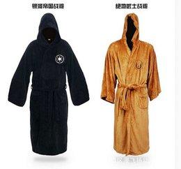 2017 libre pc pcs Robes Star Wars Darth Vader molleton Terry Jedi Adulte Peignoir Robes Halloween Costume Cosplay Livraison gratuite Men Pyjamas libre pc à vendre