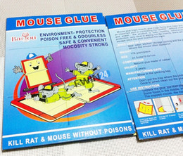 New and High Quality Trapper Max Mouse Mice Small Rodent Insect Spider Control Glue Board Traps 5pcs