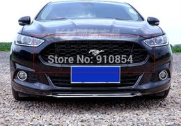 Wholesale Honeycomb mustang Style Front Grille Grill Black for ford fusion