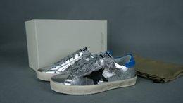 Wholesale 2014 New Golden Goose New York Sneaker Worn Men Women Shoes Fashion Sneakers