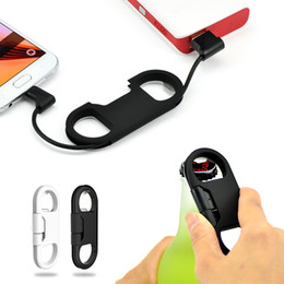 Wholesale 2 in Bottle Cap Opener with High Speed USB Charger Sync Cable Data for Samsung S6 Note Edge
