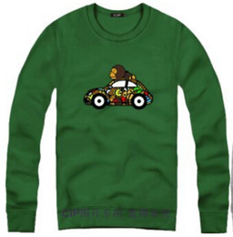 Animales libres en venta-Envío libre Sudaderas con capucha animales divertidas creativas de los suéteres de los suéteres de los pares del hombre / de la camiseta de la chaqueta del suéter del paño grueso y suave de la historieta