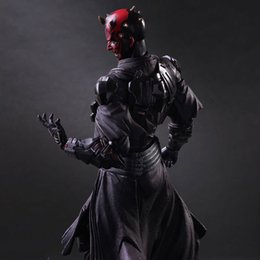 Wholesale Hot Movie Manga Darth Maul PLAY ARTS PA Action Figure Model Doll Toy Collection Statue cm high no box