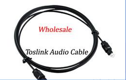 Wholesale M M M M M Optical Fiber Optic Toslink Digital Audio Cable HZ DHL