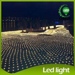 2017 rgb led net 8m * 10m LED Net LED cordes Net LED rideau de lumières à DEL étanche Feux de mariage Grand net de Noël cordes LED promotion rgb led net