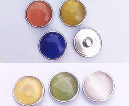 Wholesale 5pcs OEM Changeable dozen of colors mm Cats Eyes stone ginger snaps button fit ginger snaps jewelry KB4100