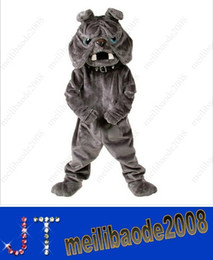 Wholesale MASCOT PARK Bulldog mascot costume fancy dress custom fancy costume mascot carnival costume kits HSA1123
