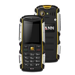 Wholesale Original MANN ZUG S Waterproof Shockproof Dustproof Rugged Cell Phones With Keypad MTK6260A GSM Mobile Phone