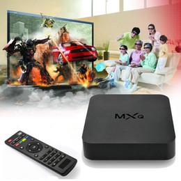 Amlogic android à vendre-Dernières MX MX TV Boîte Amlogic S805 Quad Core Android 4,4 4K Films Chaînes Kodi 15,2 Lecteur multimédia Google Play Store