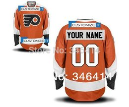 Factory Outlet, Cheap Custom Your Name Number Ice Jerseys Cheap Philadelphia Flyers Customized Personalized Hockey Jersey,Embroidery Logos