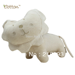 [New arrival] [Hot sale] 100% organic cotton newborn infant playing doll toy Classic plush unisex animal model