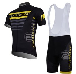 Wholesale New Livestrong team cycling short sleeves jersey livestrong clothes never used cycling jersey