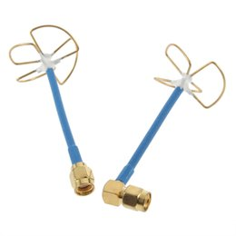 5.8G RC FPV Antenna  Straight Inner Bore Four-leaf Clover Shape For Receiver Brand New