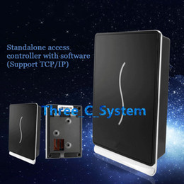 Wholesale SCR100 RFID EMID Khz Single Door Access Control Time Attendance Standalone Access Keypad TCPIP Network Computer Door Access System
