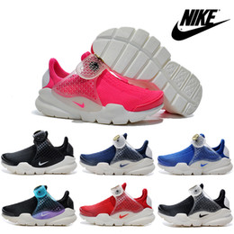Nike Sock Dart Children's Athletic Shoes For Girls Old Boys Running Shoes Authentic Kids Boots Babys Discount Mesh Sneakers Free Shipping