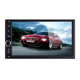 Wholesale 7 Inch Android Car DVD Player For Universal Car Radio Car GPS Radio Double DIN Stereo HD x480 Capacitive Screen