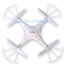Promotion drones de caméras aériennes Gros-Syma x5C 2.4G 4CH 6-Axis Upgrade Syma x5C-1 Hélicoptère RC aérienne Quadcopter Toys Drone avec appareil photo ou Syma x5 Sans appareil photo numérique
