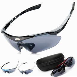 Wholesale-Outside sport windproof riding eyewear bicycle accessories mountain bike pc sun glasses