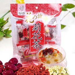 2016 Chrysanthemum tea, flower tea herbal tea,12bags*10g  bag, free shipping