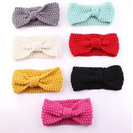 baby girls headband crochet baby turban knitted headband 7 colors to choose ear warmer baby newborn toddler headband